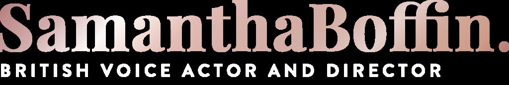 Main logo for Samantha Boffin's website