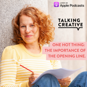 Cover art for Episode 35 of Samantha Boffin's Talking Creative