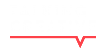 Talking Creative podcast logo